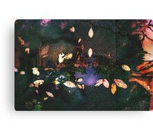 Puddled Skyline Canvas Print