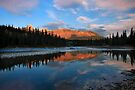Icefields parkway, A Dawn reflection. Alberta, Canada. by PhotosEcosse