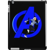 Just Quicksilver iPad Case/Skin