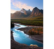 Athabasca River, the Icefields Parkway. Alberta, Canada. Photographic Print