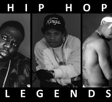 Hip Hop Legends by Michael Wright
