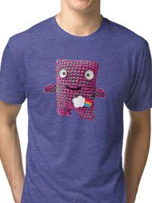 Wooly Robot Tri-blend T-Shirt