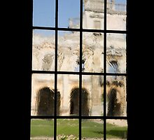 Old View Through Old Glass by Mark Baldwyn
