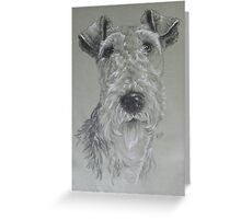 Wire-haired Fox Terrier Greeting Card