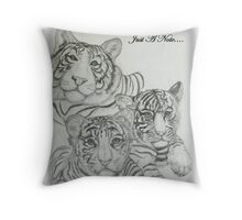 Just A Note.... Throw Pillow