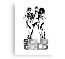 Solid Gold 2 Canvas Print