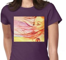 Tori in the Wind Womens Fitted T-Shirt