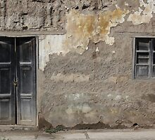Weathered Window and Door by rhamm