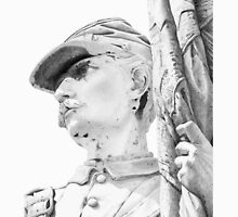 Sgt. Samuel Pieffer  - USA Civil War by Carole Andreas