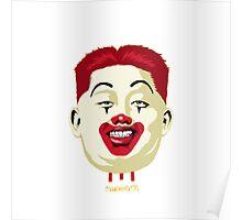 Kim Jong-un McDonalds Art Poster