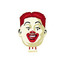 Kim Jong-un McDonalds Art Photographic Print