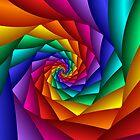Spiral Rainbow by Julie Shortridge