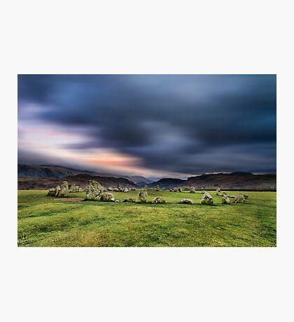 Castlerigg Stone Circle Photographic Print