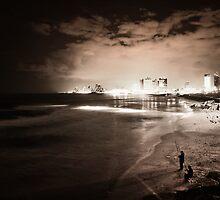 Tel Aviv @ Night by Zohar Lindenbaum