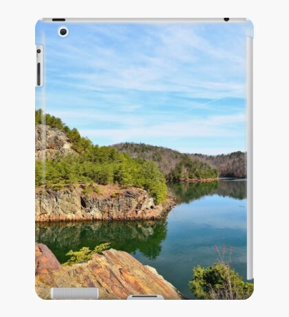 Carter's Lake, Chatsworth, Georgia, USA iPad Case/Skin