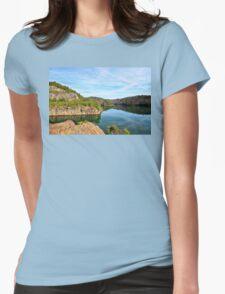 Carter's Lake, Chatsworth, Georgia, USA Womens Fitted T-Shirt