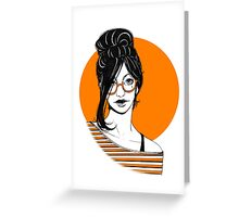 Girl-01 Greeting Card