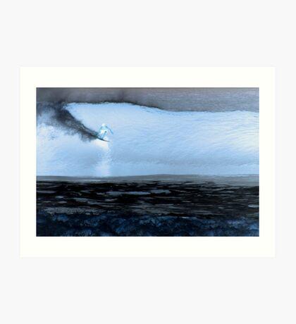 Moonlight Bay Art Print