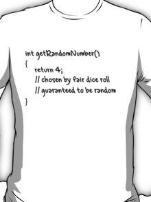 get Random Number T-Shirt