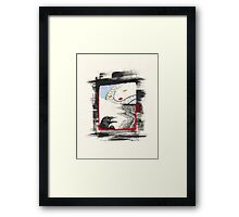 Call and Wait Framed Print