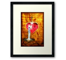 A Heart To Receive Framed Print