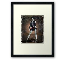 Gothic Purity Framed Print
