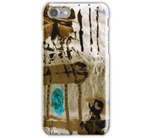 wake up call iPhone Case/Skin
