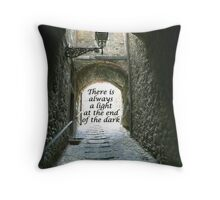 always a light Throw Pillow