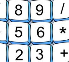 Calculator Cartoon Sticker