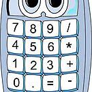 Calculator Cartoon by Graphxpro