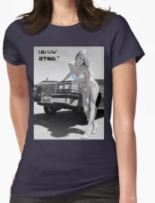 Cadillac  Womens Fitted T-Shirt