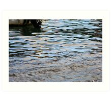 Water is a miracle...... Art Print