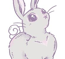 Pondering Bunny by SimplyKitt