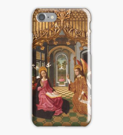 Master of La Seu d'Urgell - 1495, 220,5 x 131,5 cm iPhone Case/Skin