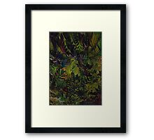 The Jungle Look Framed Print