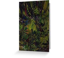 The Jungle Look Greeting Card