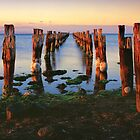 Forgotten Jetty by Dean Prowd Panoramic Photography