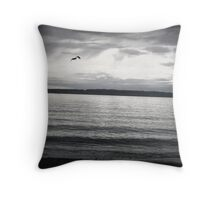 Sunset Silhouettes...Flying High Throw Pillow