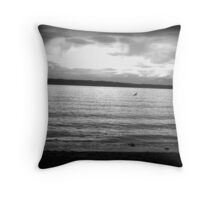 Cruising At Dawn Throw Pillow