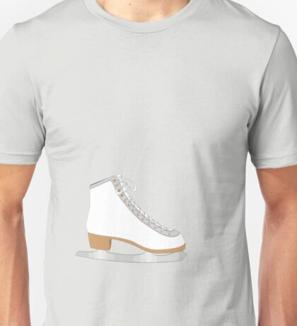 White ice skate Unisex T-Shirt