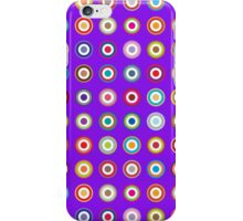 Mods dots large and purple iPhone Case/Skin