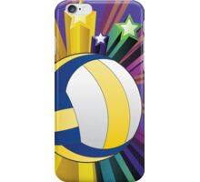 Volleyball Ball Background iPhone Case/Skin