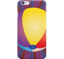 Volleyball Ball Background 2 iPhone Case/Skin