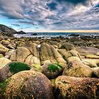 Beach Of Giant Pebbles by PlanetPenwith