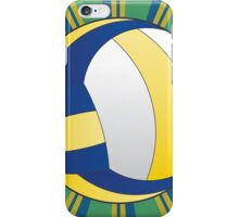 Volleyball Ball Background 3 iPhone Case/Skin