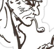 Mr Holmes Sticker