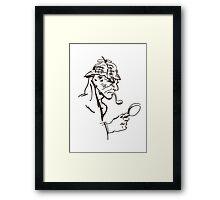 Mr Holmes Framed Print