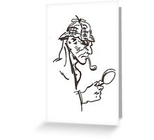 Mr Holmes Greeting Card
