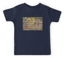 Old Brick Wall Texture Kids Tee