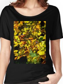 Leaves in the Fall Women's Relaxed Fit T-Shirt